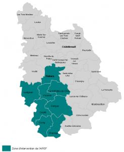 Carte APEF site